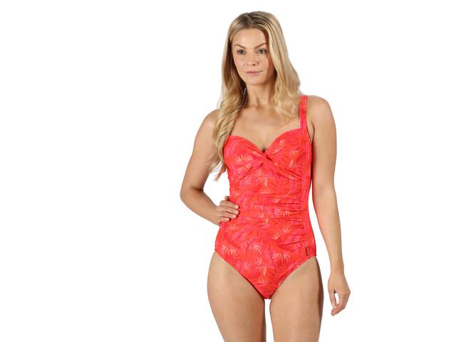 Regatta Sakari Costume Swimsuit Women, rood